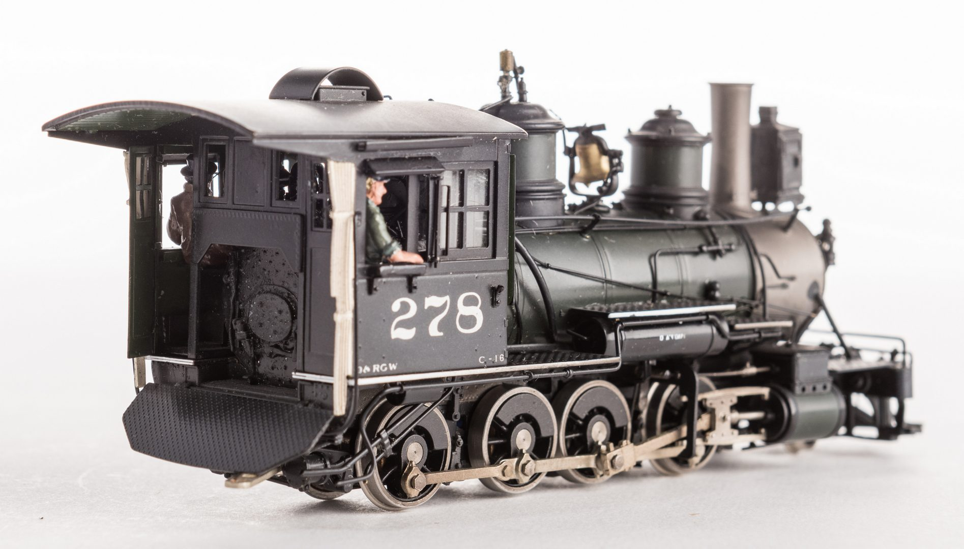 Lot 824: 2 Boxed Brass Model Trains