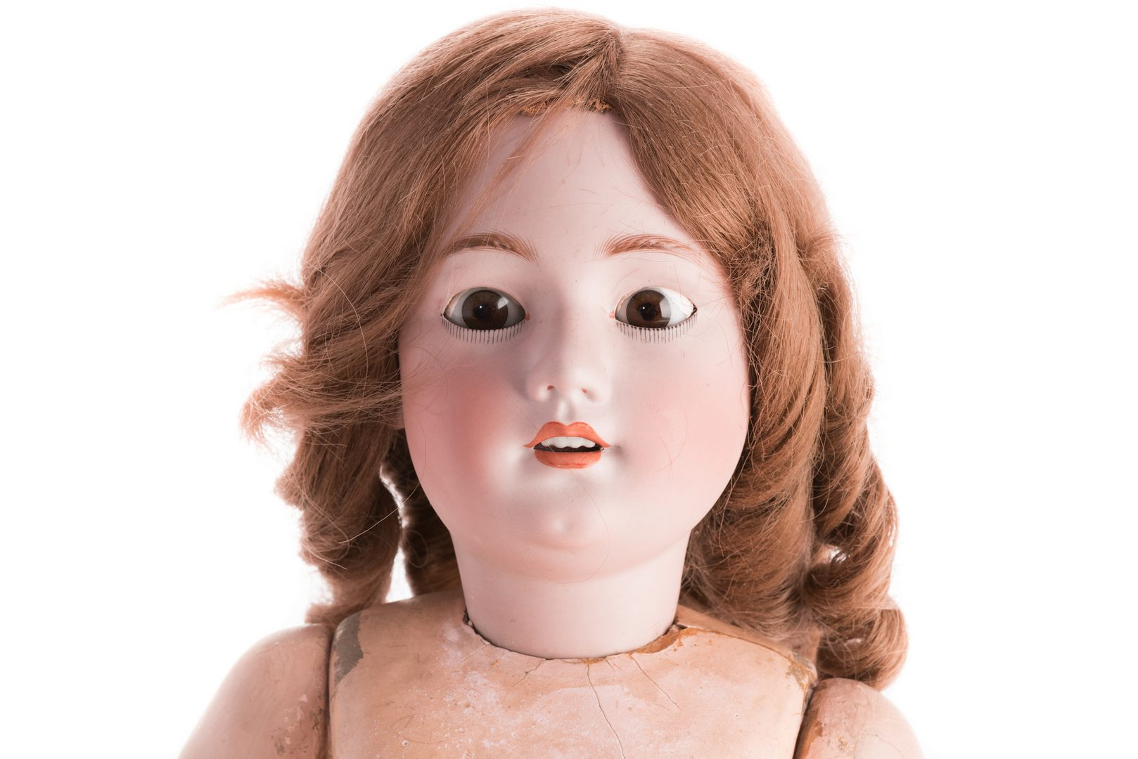 Lot 826: 4 German Bisque Dolls, G. Heubach, S&H