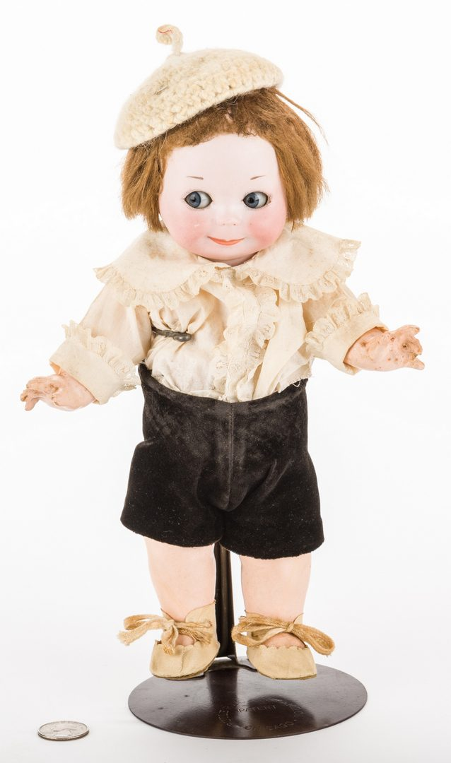 Lot 829: Nobby Kid Googly Bisque Doll