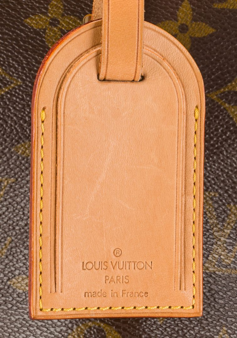 Lot 833: Louis Vuitton Monogram Canvas Hunting Satchel
