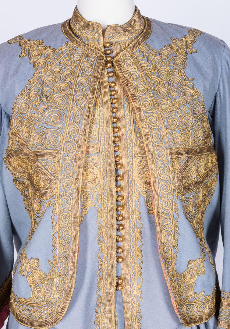 Lot 840: Vintage 4-Piece Balkan Style Costume