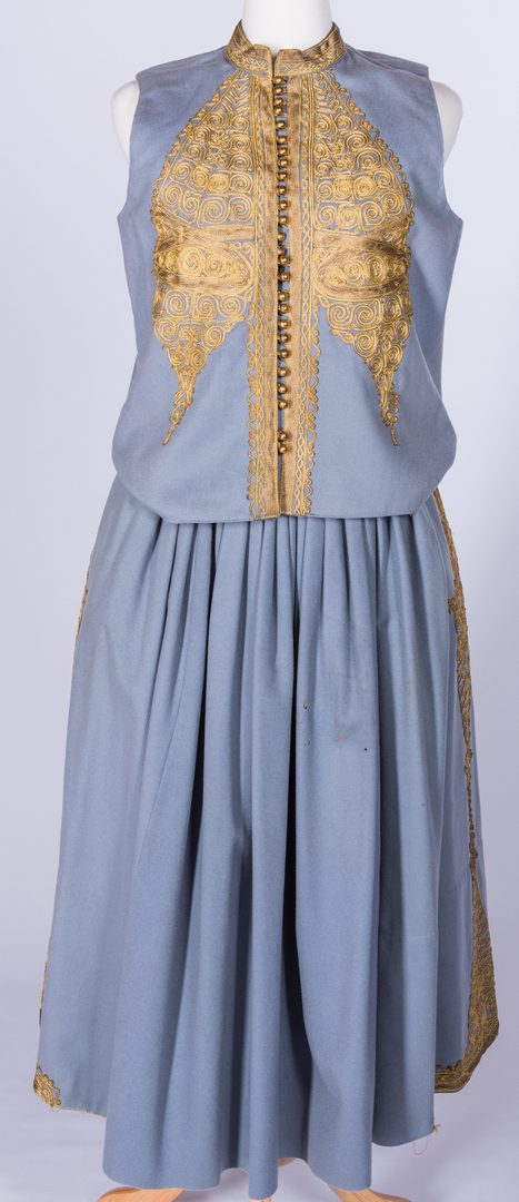 Lot 840: Vintage 4-Piece Balkan Style Costume