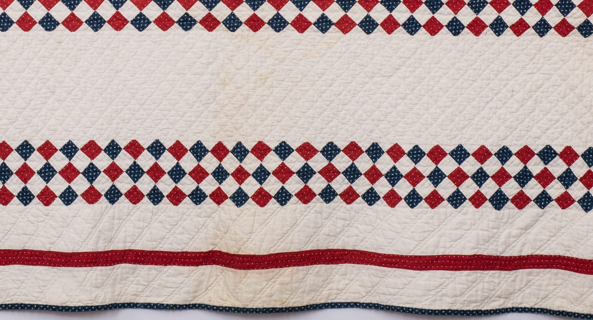 Lot 845: 2 East TN Red, White & Blue Quilts