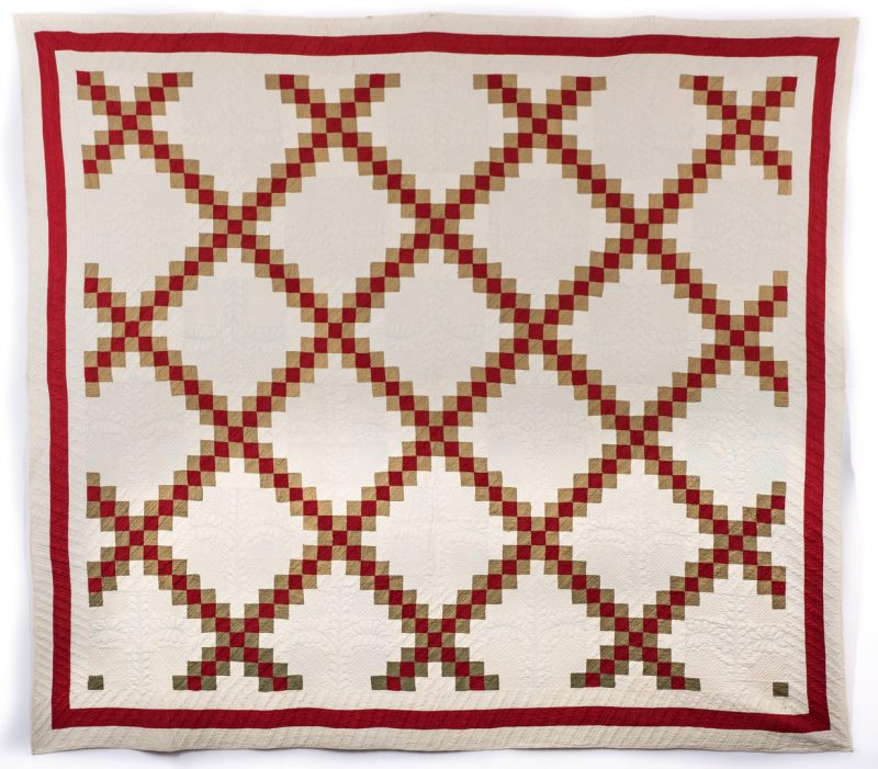 Lot 846: 2 East TN Cotton Piece Quilts