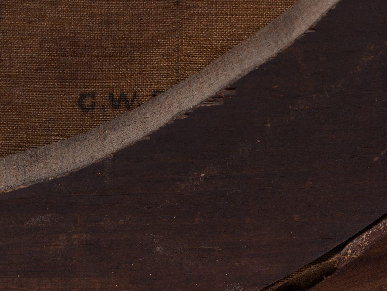 Lot 853: G.W. Storm 19th c. AM portraits