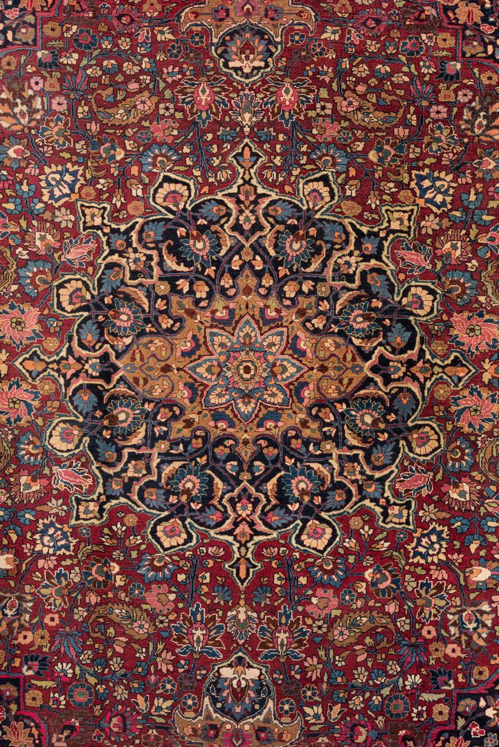 Lot 854 Semi Antique Persian Tabriz Carpet