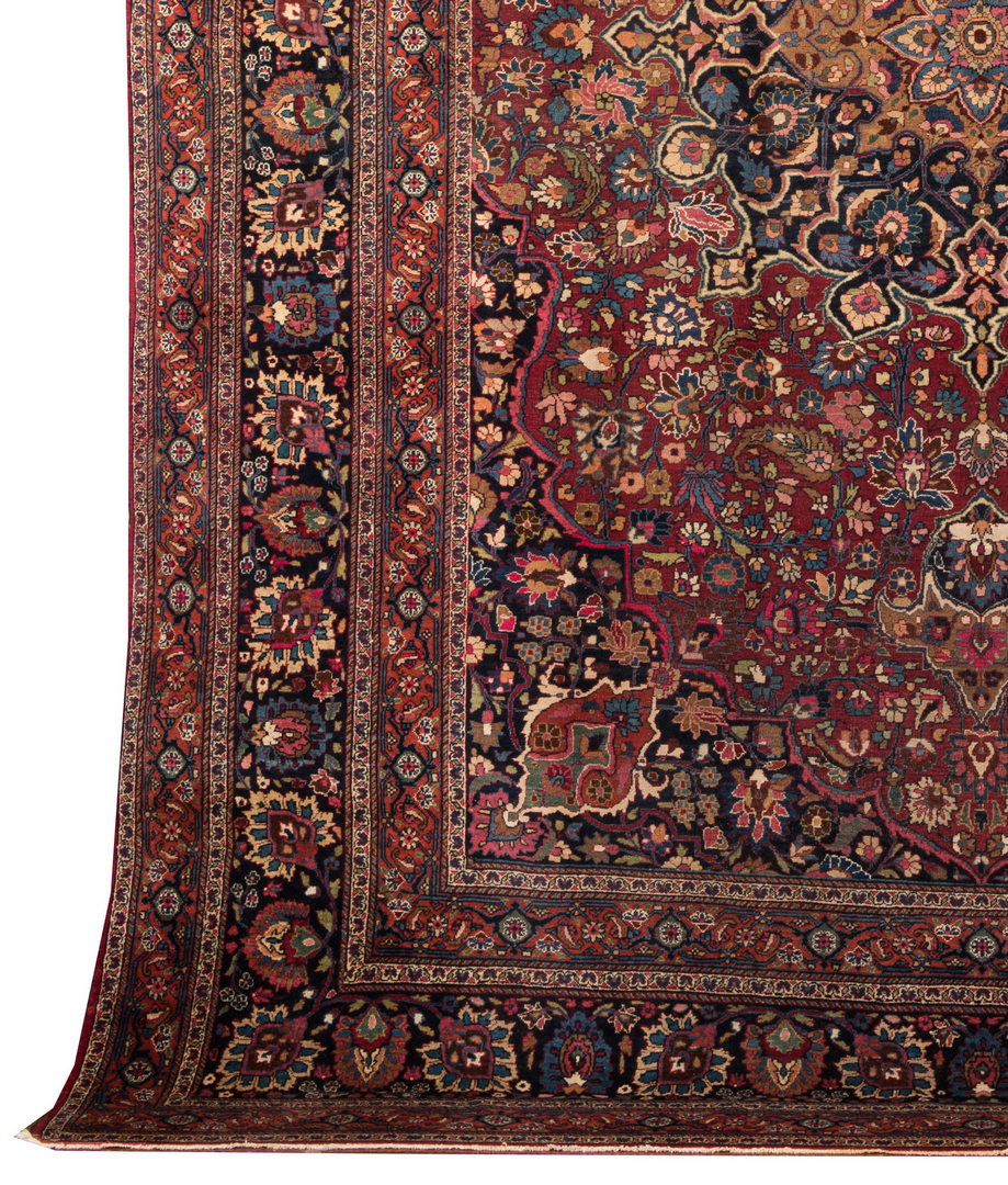 Lot 854 Semi Antique Persian Tabriz Carpet
