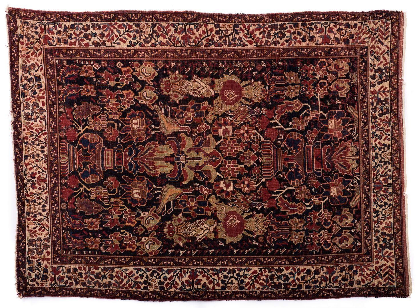 Lot 855: Antique Persian Afshar Area Rug