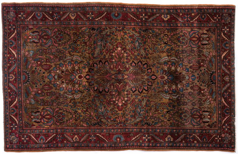 Lot 856: Antique Persian Sarouk Area Rug