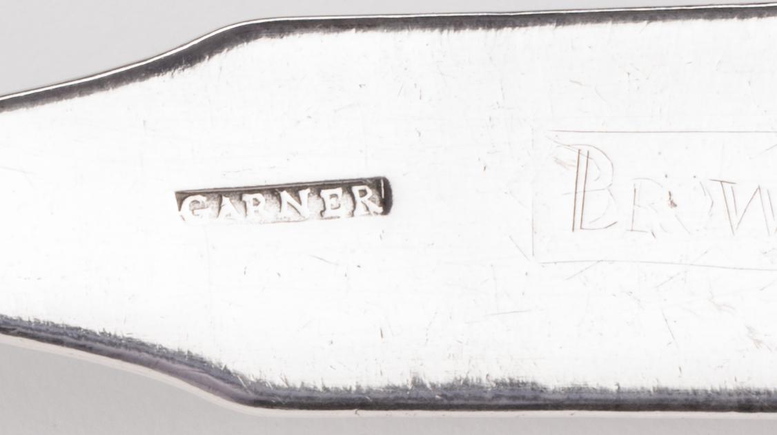 Lot 85: Garner TN Coin Silver Ladle