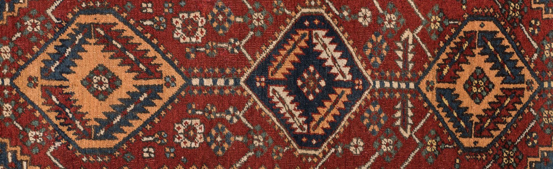 Lot 863: Antique Persian Heriz Area Rug