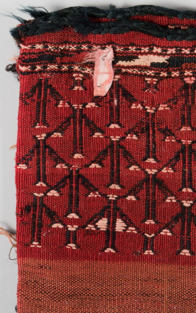 Lot 864: Two Turkoman Bags, early 20th c.