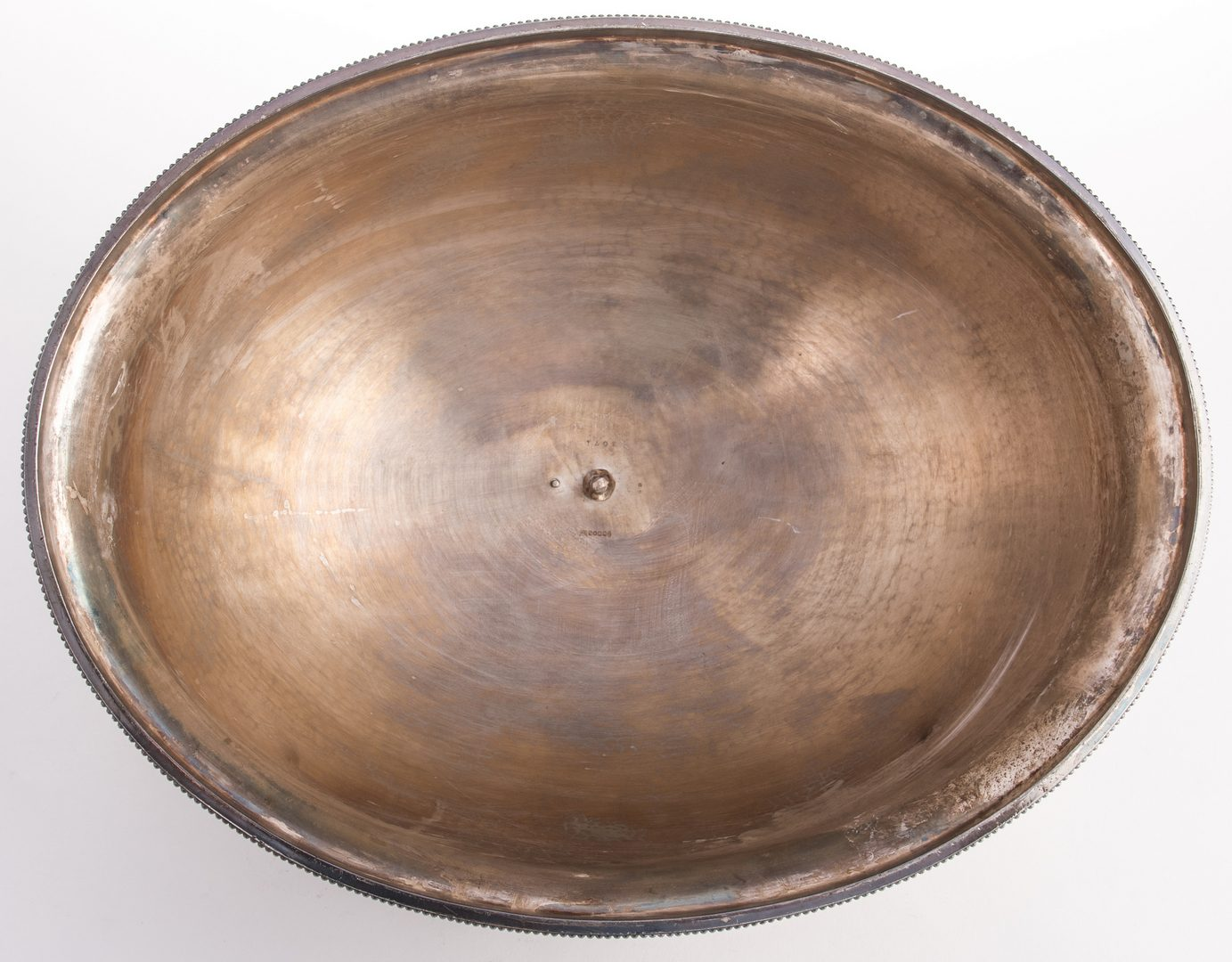 Lot 870: Victorian Silverplate Meat Dome