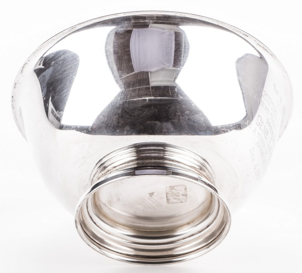 Lot 874: Paul Revere Reproduction Sterling Silver Bowl