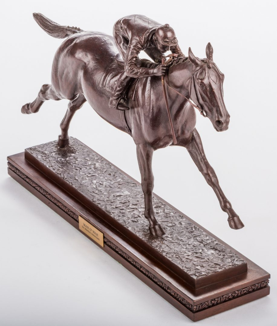Lot 96: M. Newmark, Man O' War Bronze