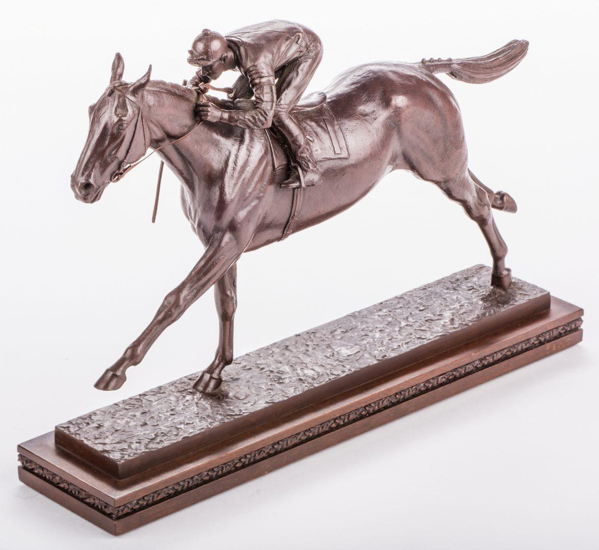 Lot 96: M. Newmark, Man O' War Bronze