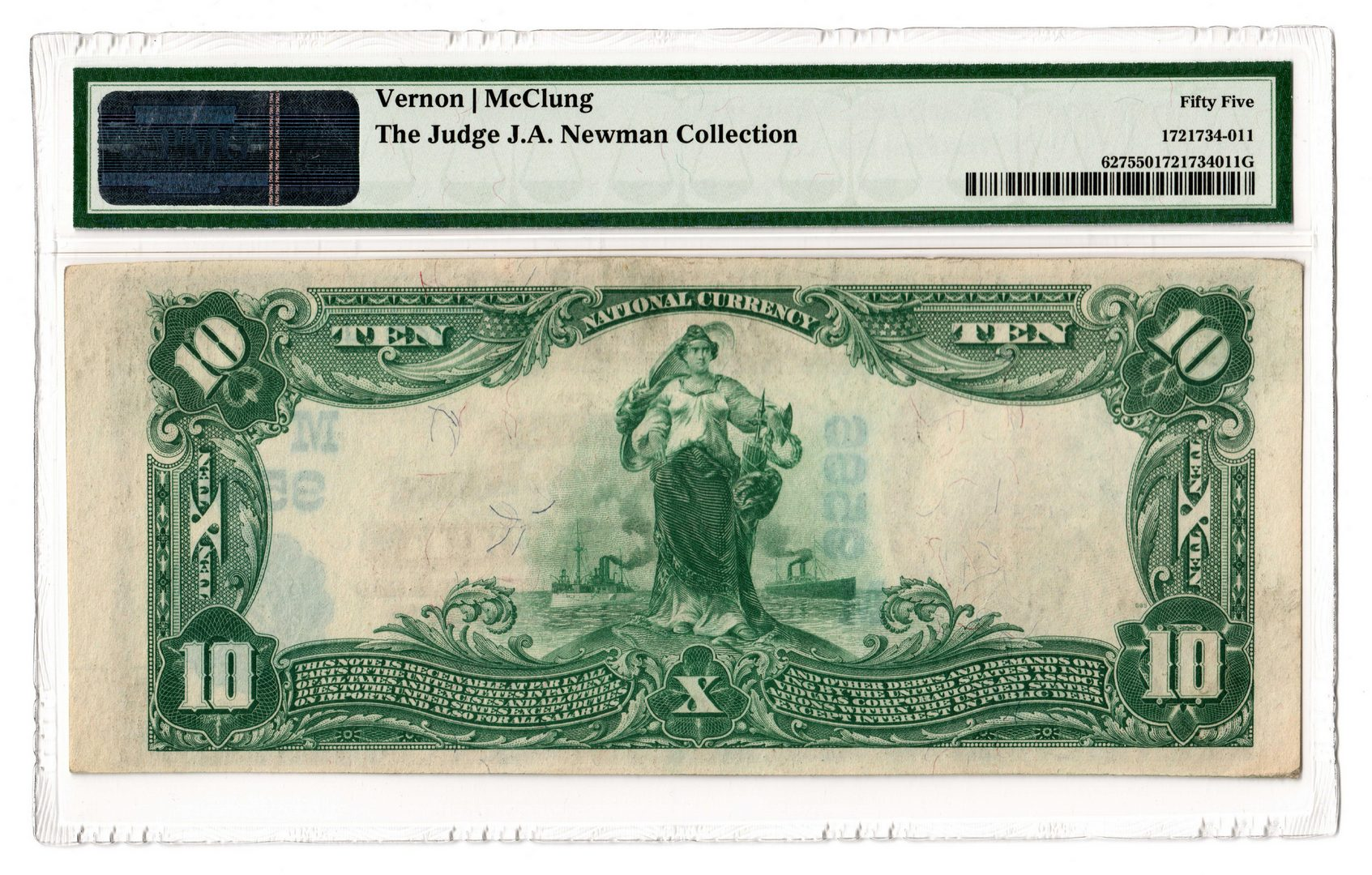 Lot 101: 1902 $10 First National Bank of Starbuck National