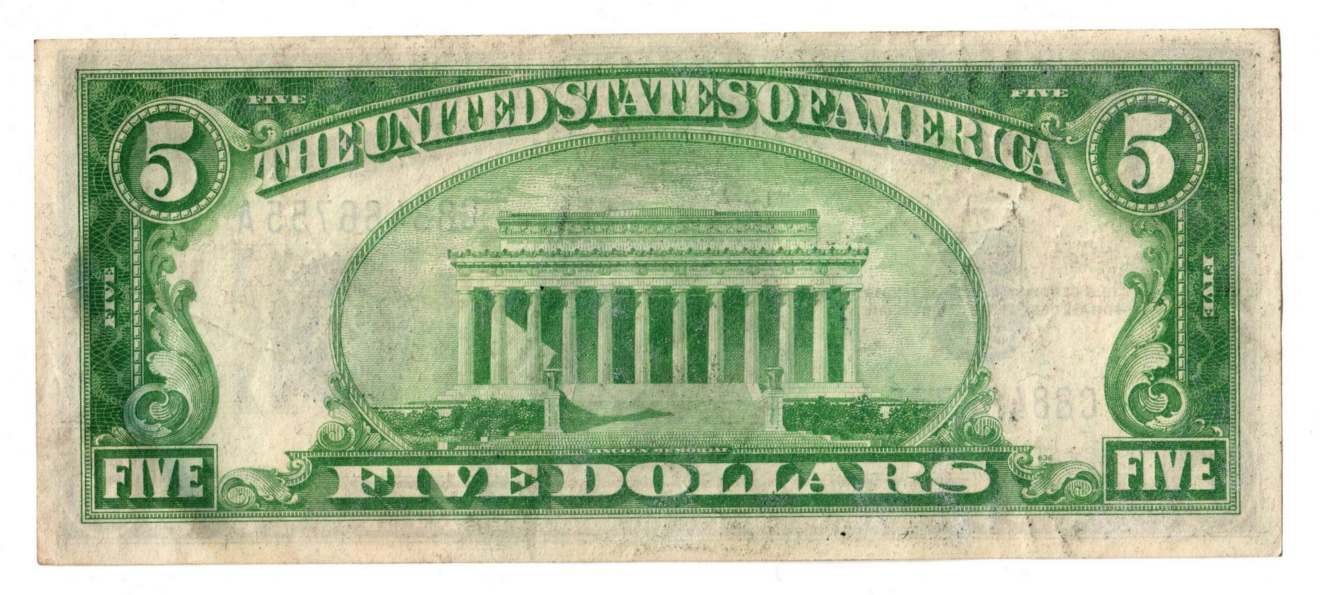 Lot 10: 1928-1957 11 Note Group Including 5 Silver Certifi
