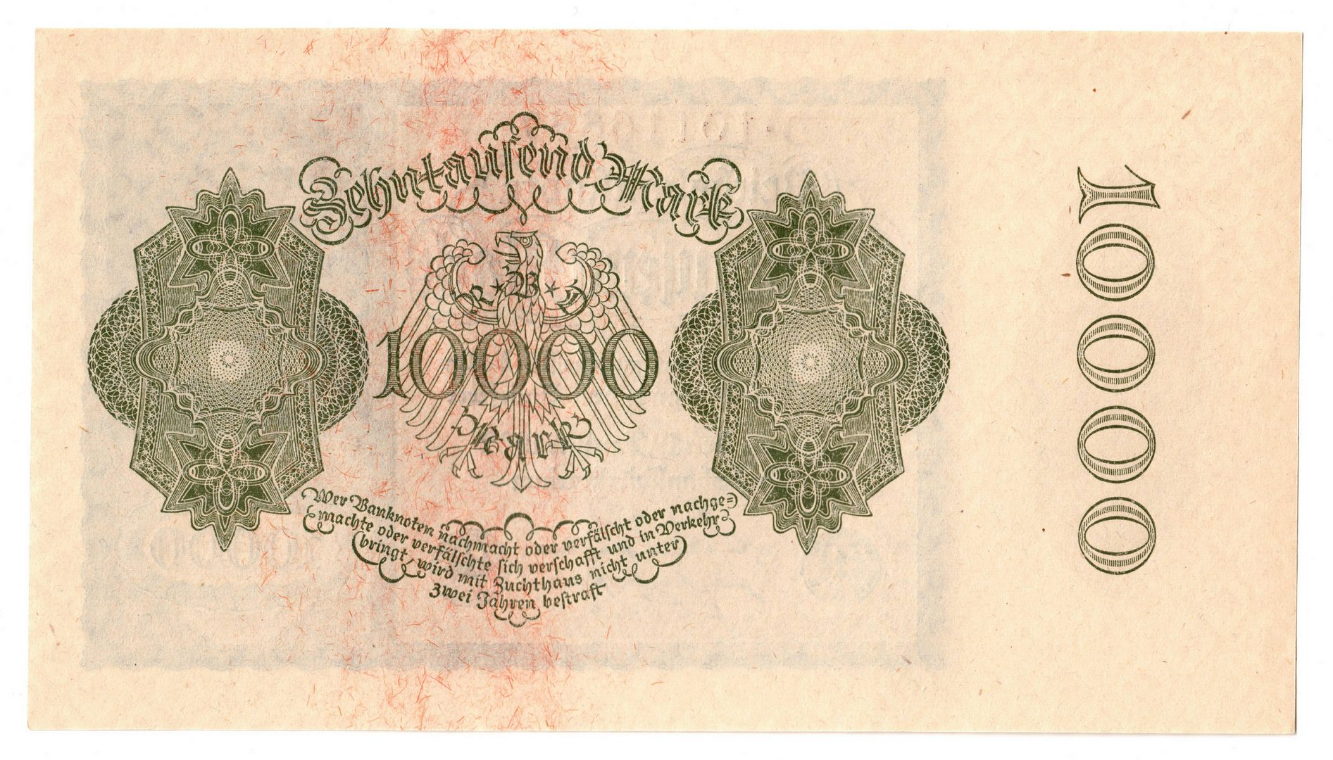 "Lot 116: 12 20th Century German Notes, inc. 10 ""Vampire"" No"