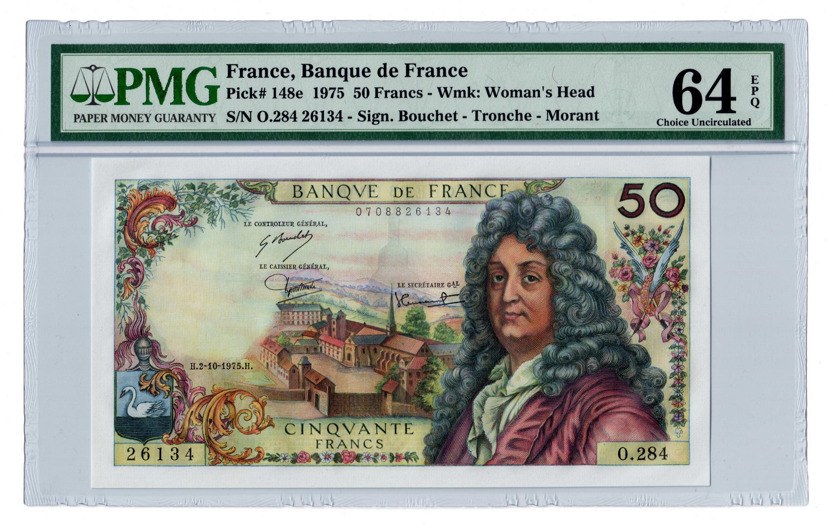 Lot 118: Three 20th Century French Bank Notes