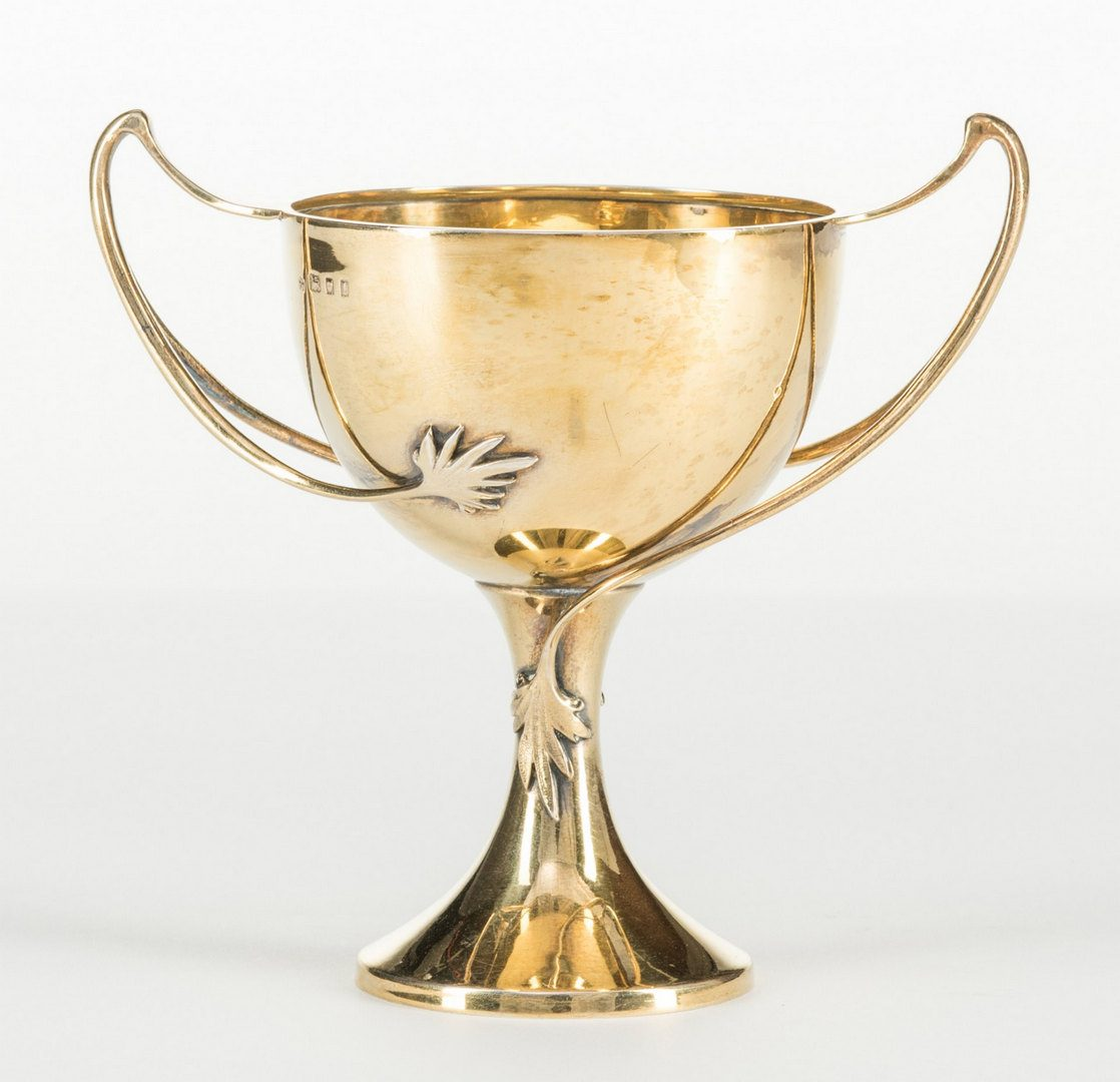 Lot 125: English Gilded Sterling Cup