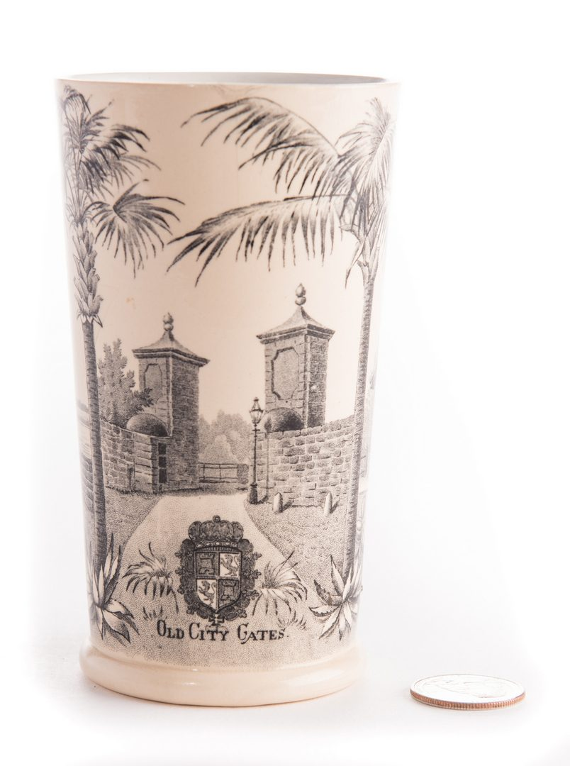 Lot 136: Old Slave Market Transferware Cup