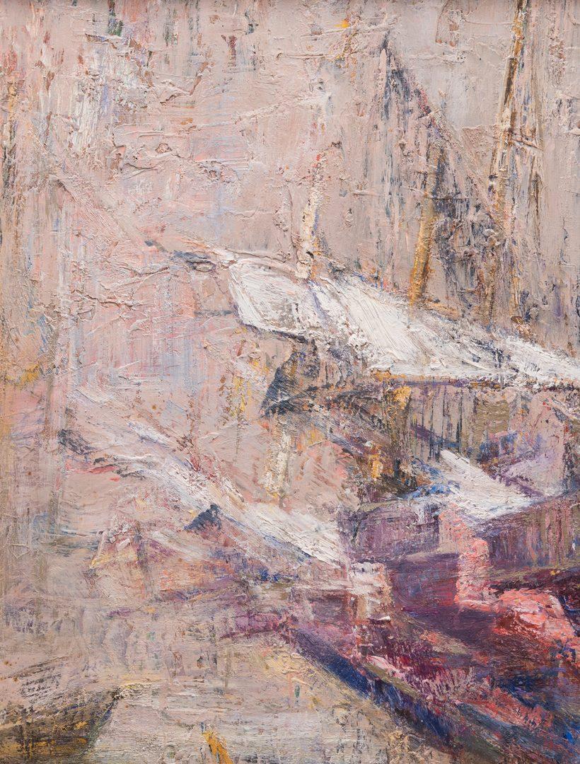 Lot 144: Gaspere Ruffolo Impressionist Oil on Board