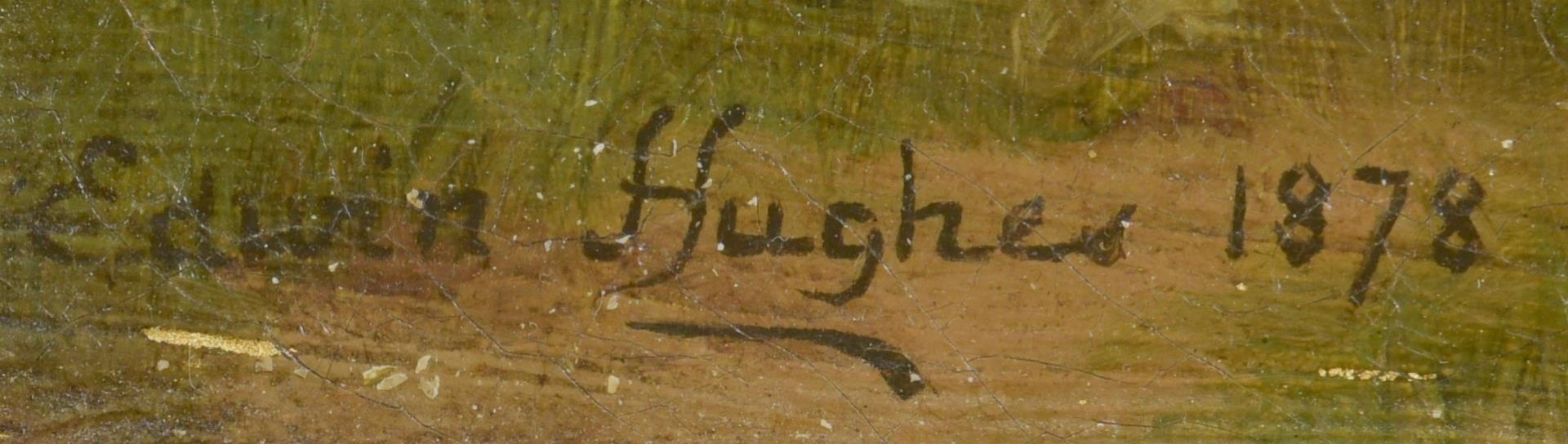 Lot 156: Edwin Hughes o/c, The Storybook