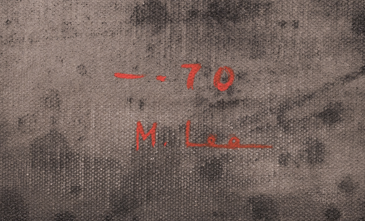 Lot 161: M. Lee Abstract Painting