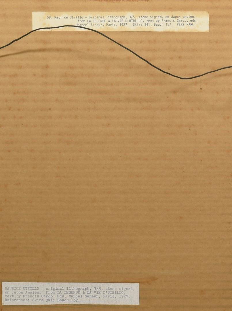 Lot 167: Pr. 20th Century Prints, Kleinholz & Utrillo