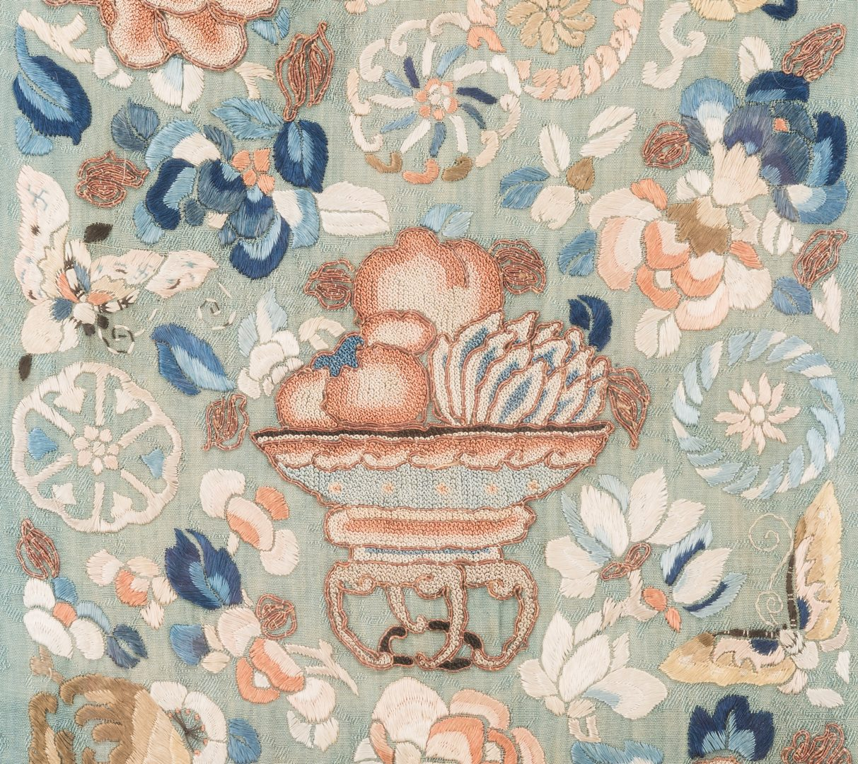 Lot 173: 2 Chinese Embroideries