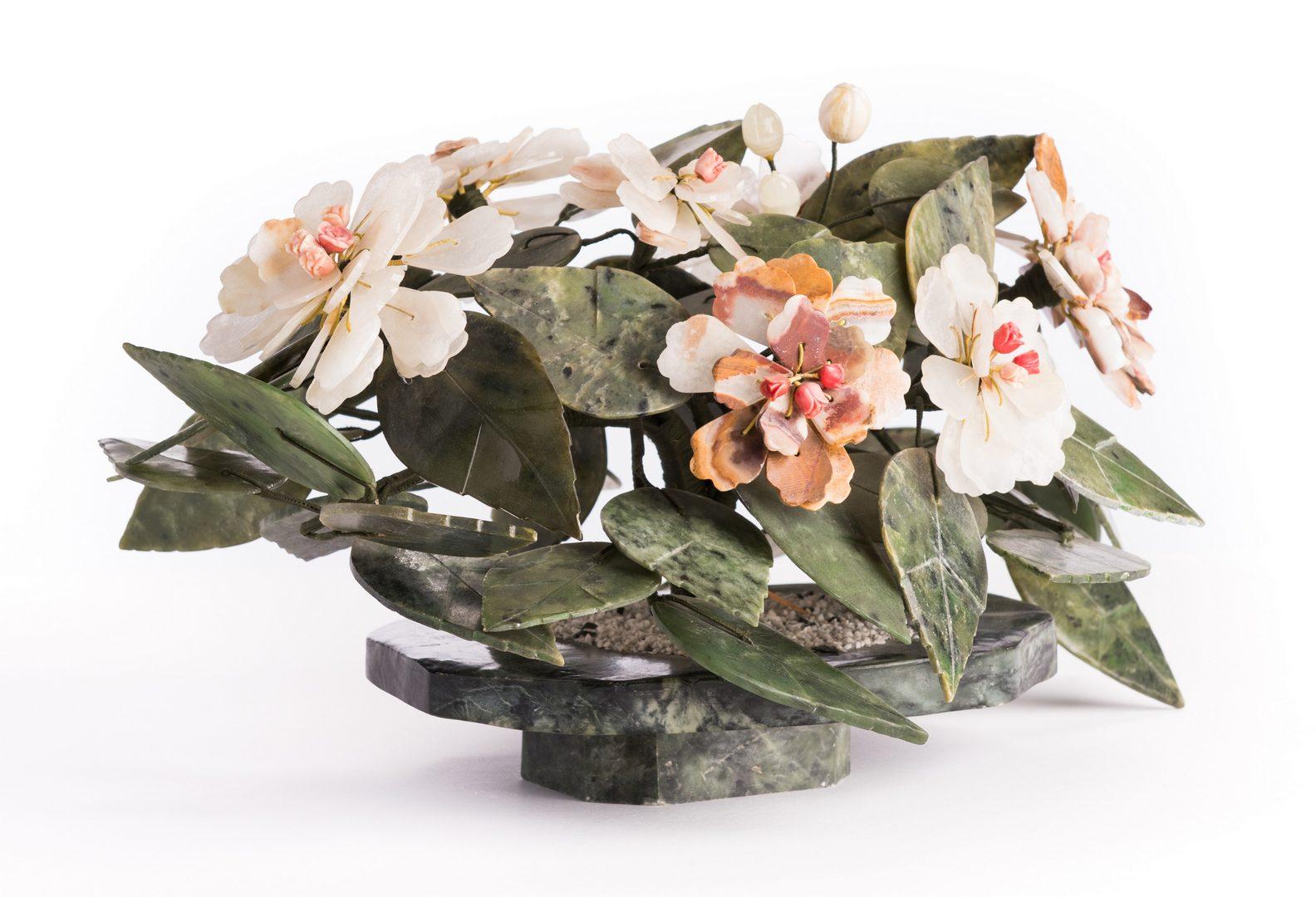 Lot 189: 3 Asian Hardstone Decorative Items