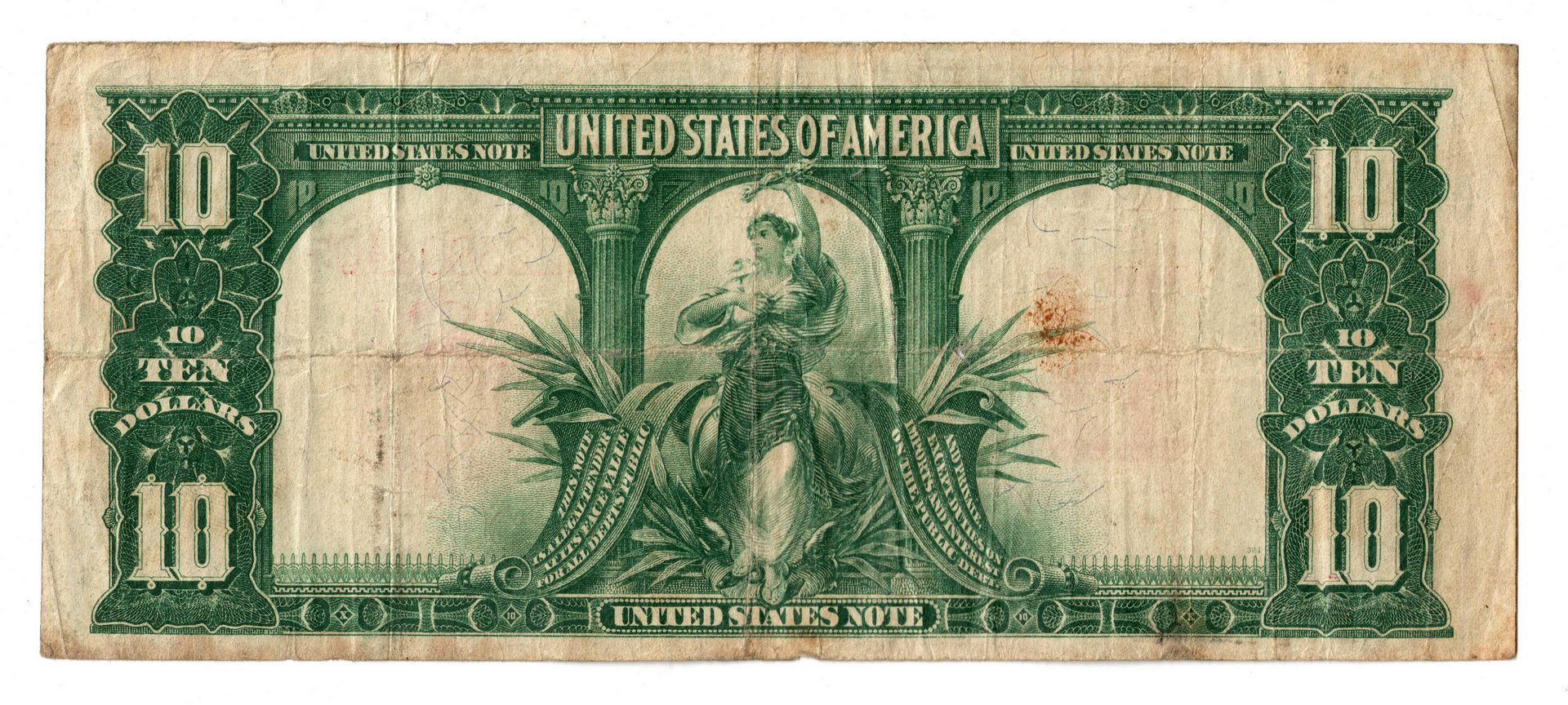 """Lot 19: Pair Of $10 Legal Tender Notes, inc. """"Bison"""""""