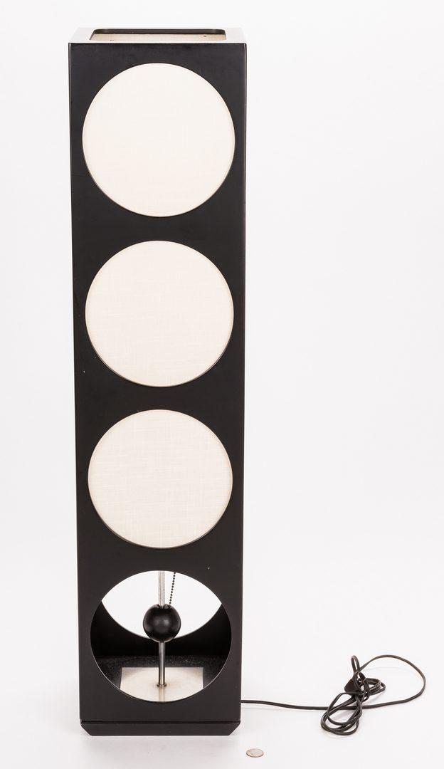 Lot 201: Mid Century Cube Lamp, Italian