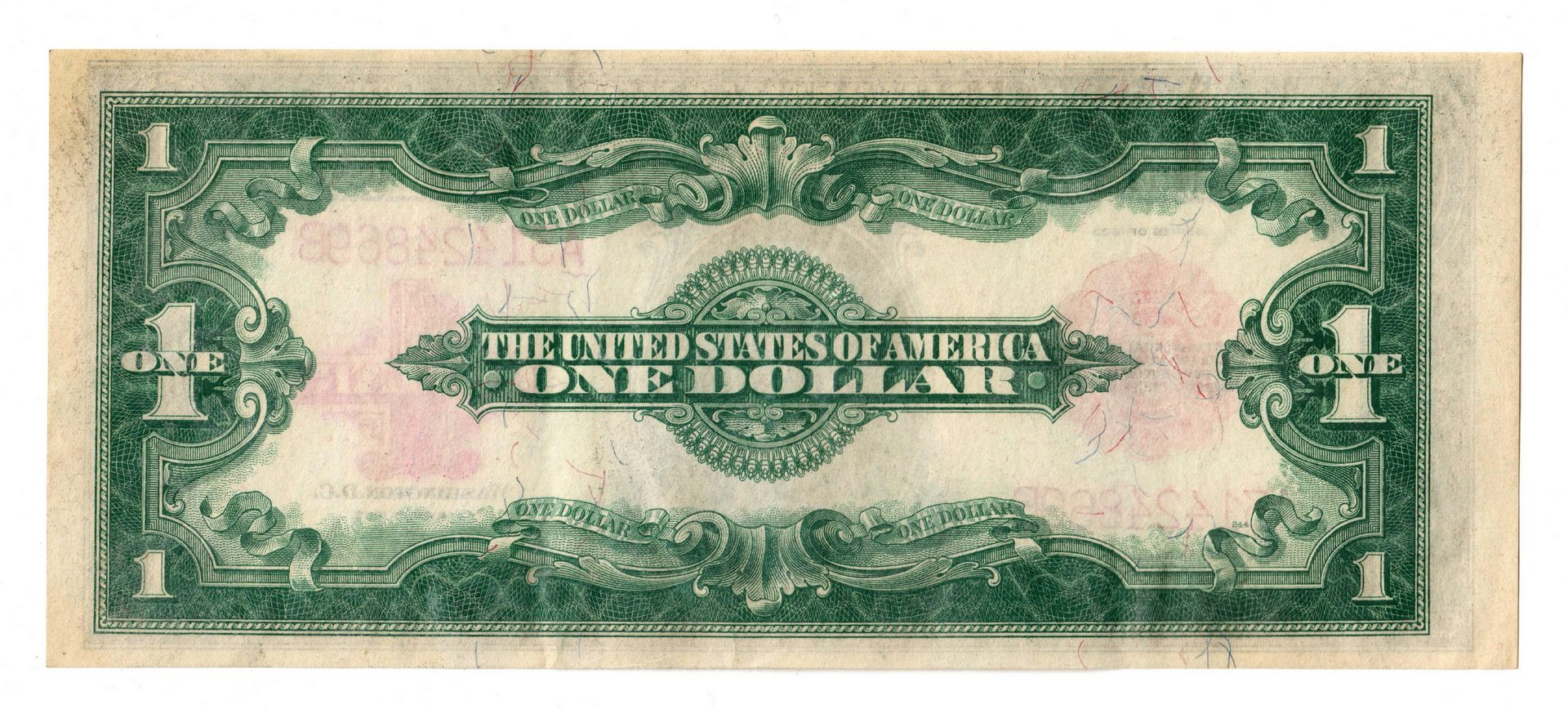 "Lot 20: Four 20th Cent. U.S. $1 Notes, inc. 3 ""Horse Blank"
