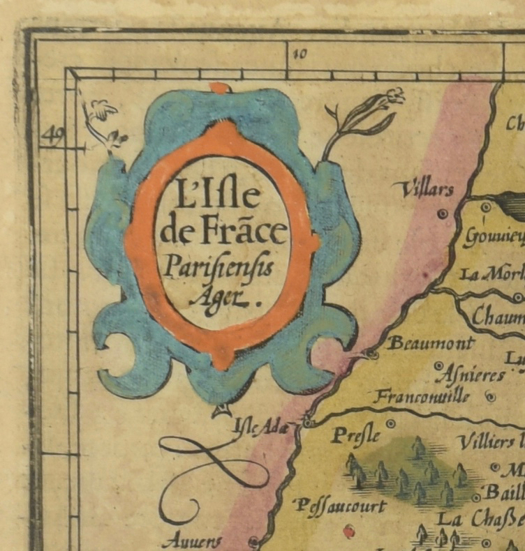 Lot 210: 2 Early Maps, Britain and France