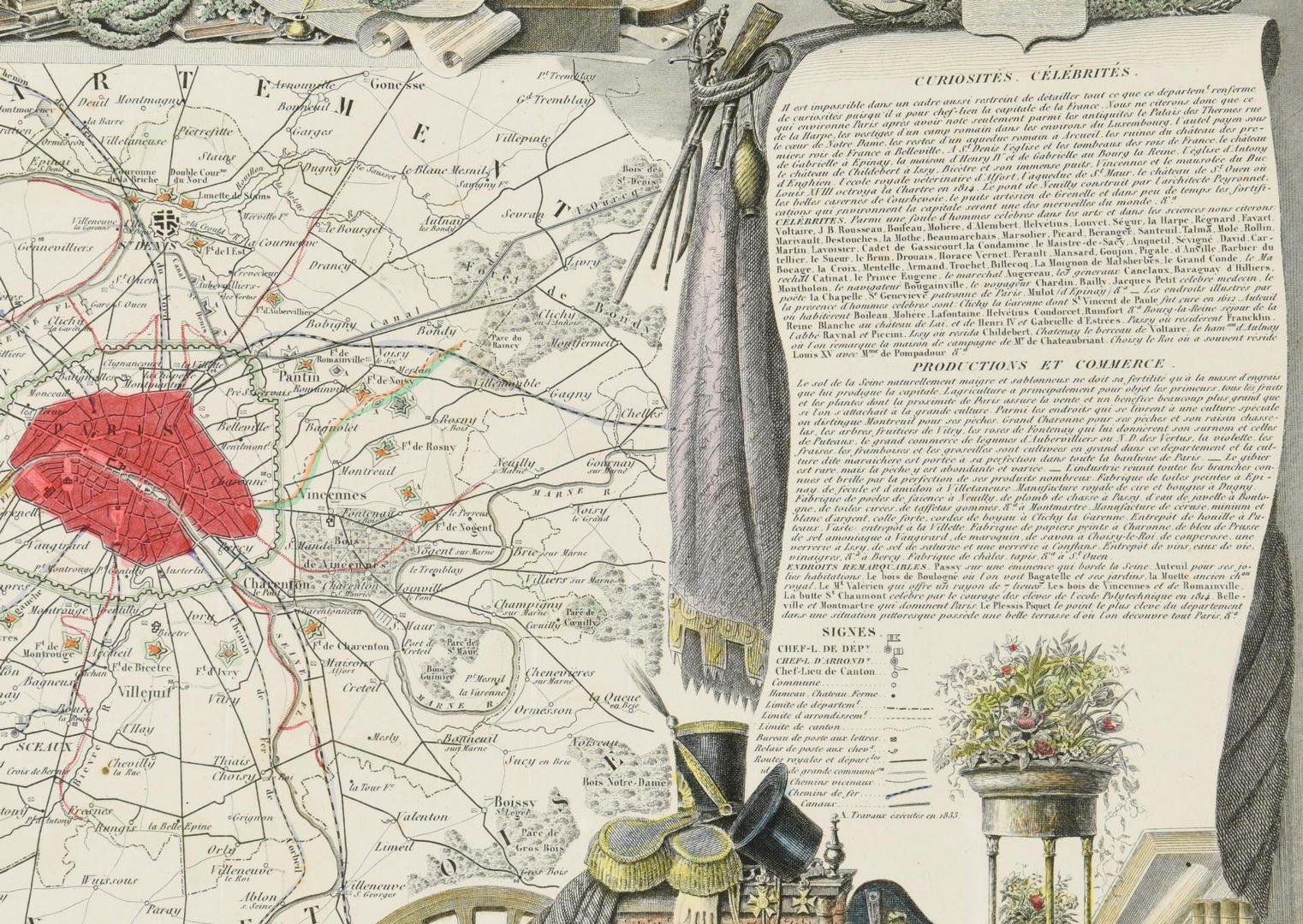 Lot 211: 3 European Maps, inc. France & England
