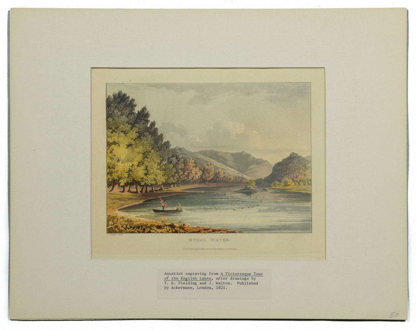 Lot 216: Large Group of English Prints, 8 total