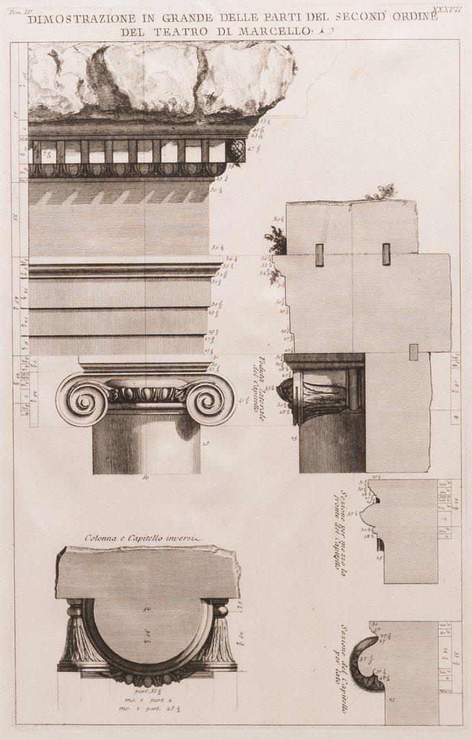 Lot 218: 3 Engravings, Piranesi and Earlom