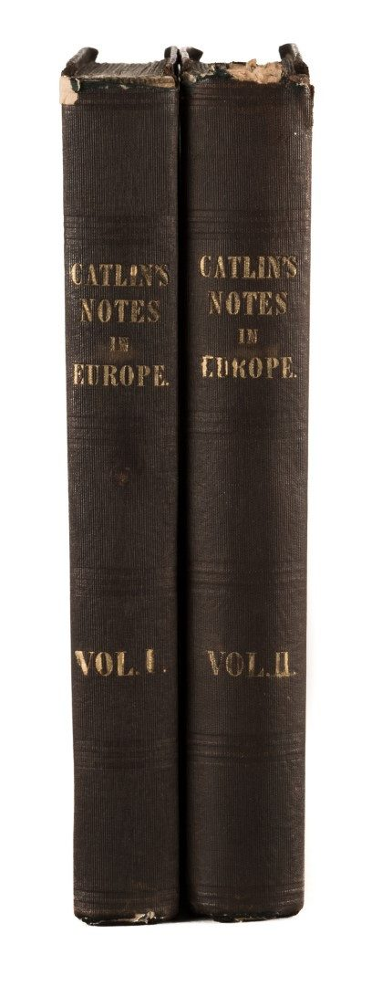 Lot 219: Catlin's Notes in Europe 2 vols