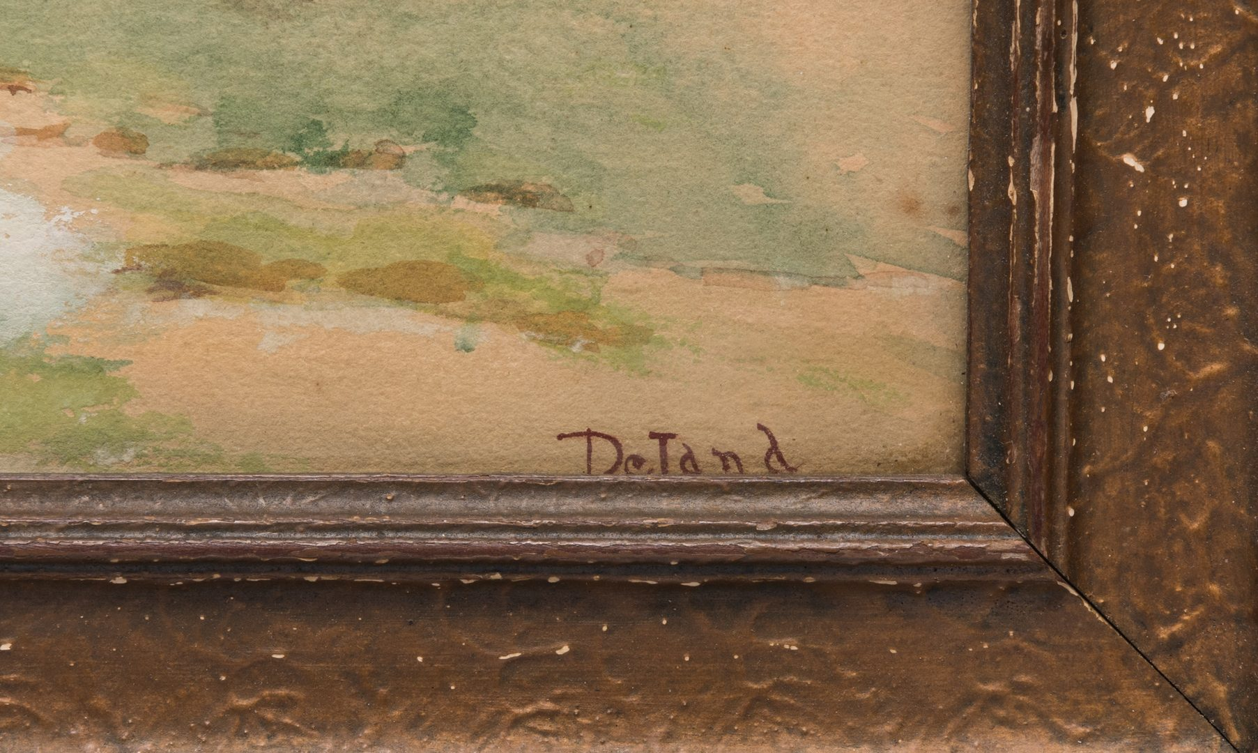 Lot 222: Deland Watercolor Landscape