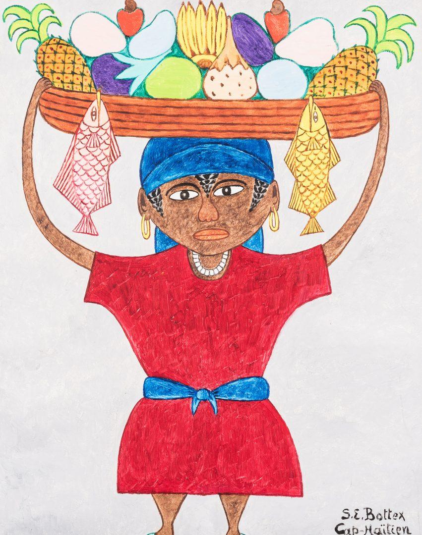 Lot 223: Seymour Etienne Bottex Haitian Painting