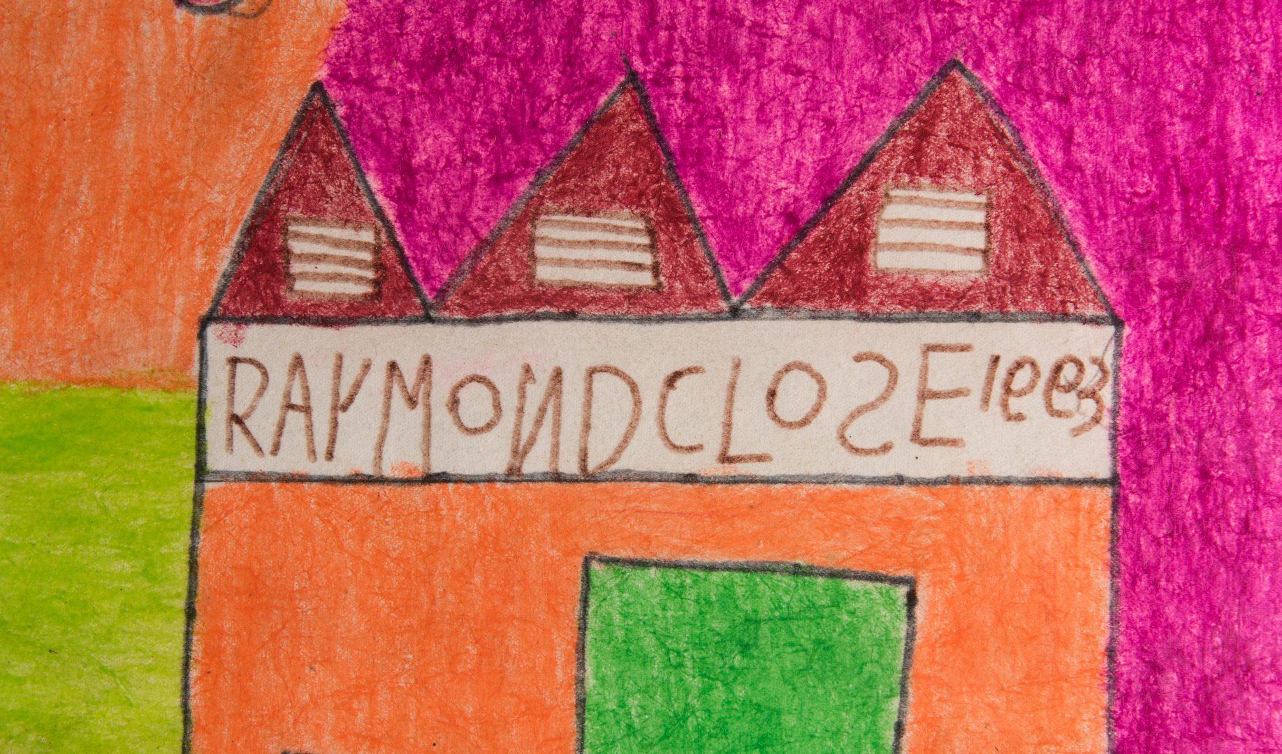 Lot 234: 2 Raymond Close Folk Art Items