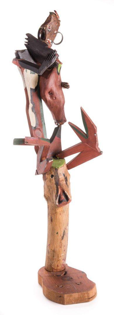 Lot 235: 2 Folk Art Assemblages, inc. Webster, Jennings