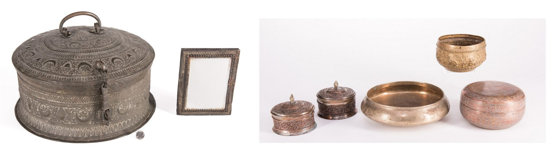 Lot 239: Grouping of Indian and Near Eastern items, 13 item