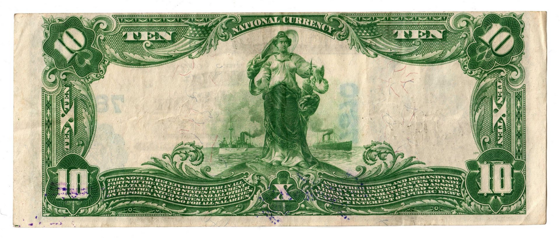 Lot 70: 1902 $10 Phoenix National Bank of Columbia Nationa