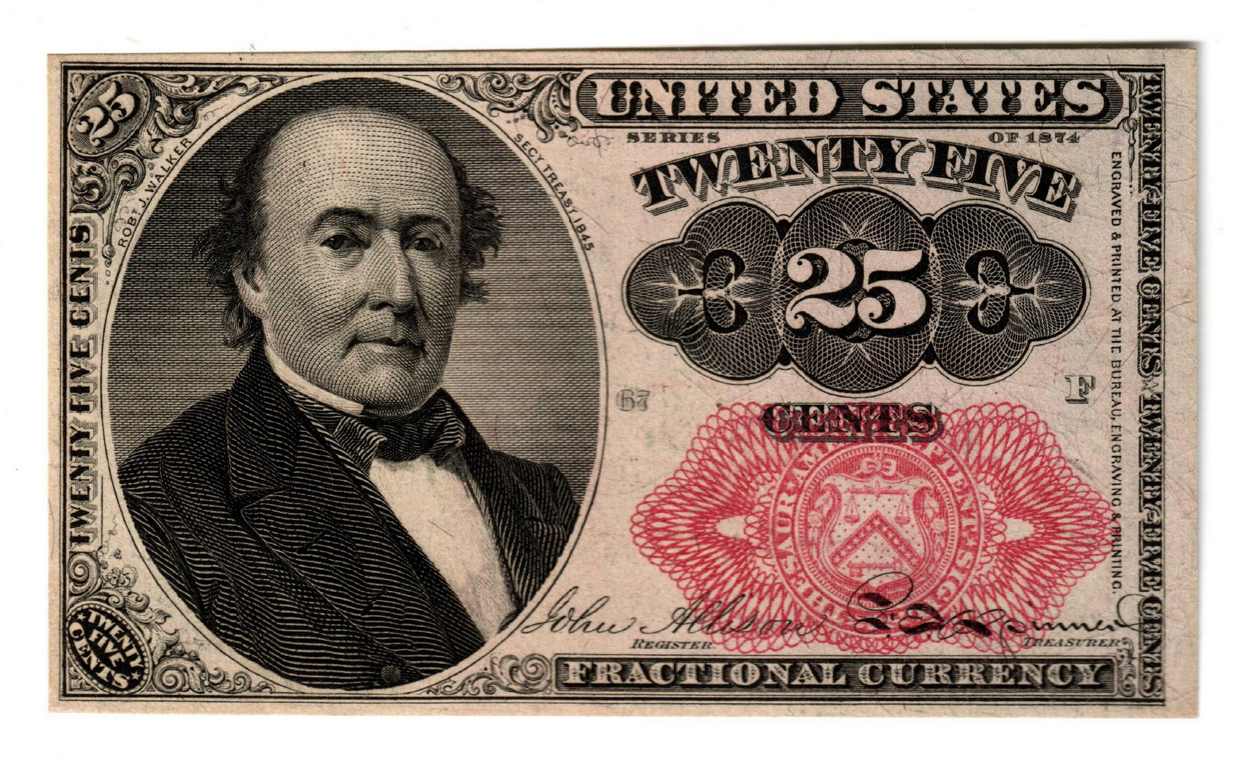 Lot 8: U.S. Fractional Pairing, 50 & 25 Cent Denomination