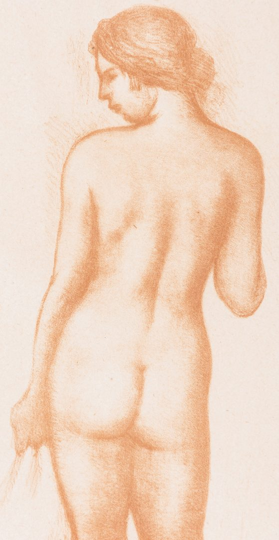 Lot 100: Aristide Maillol Nude Lithograph, Pencil Signed