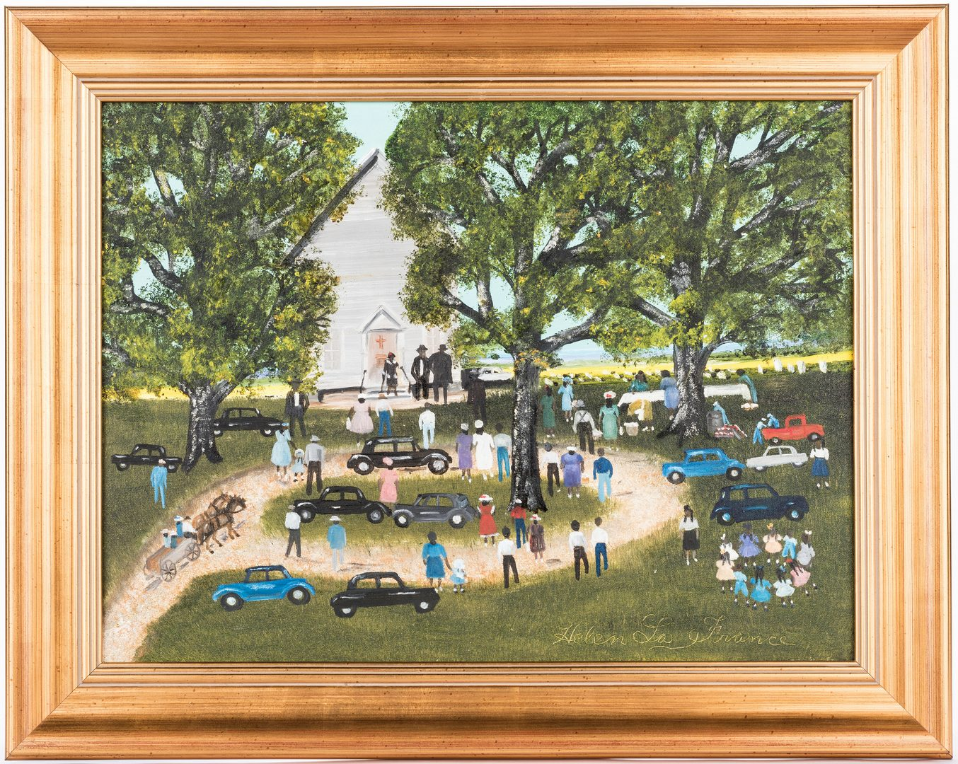 Lot 105: Helen LaFrance, Church Picnic