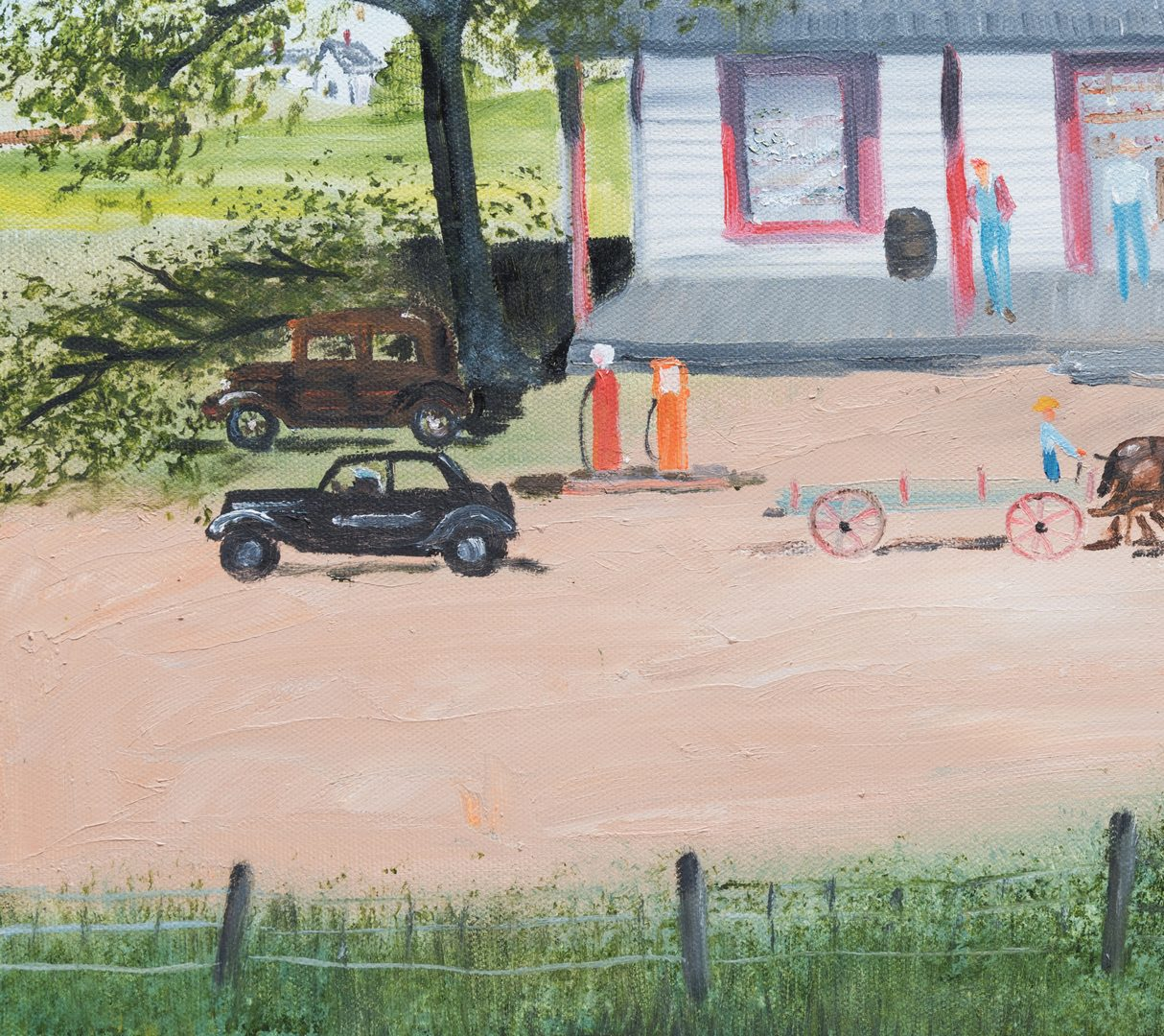 "Lot 106: Helen LaFrance, O/C, ""The General Store"""